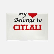 My heart belongs to Citlali Magnets