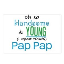 Handsome and Young Pap Pap Postcards (Package of 8