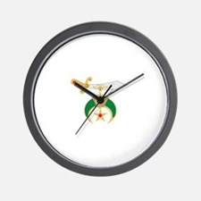Shriner Sword Wall Clock