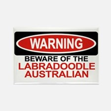 LABRADOODLE AUSTRALIAN Rectangle Magnet