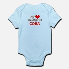 My heart belongs to Cora Body Suit