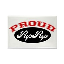 Proud PapPap Rectangle Magnet