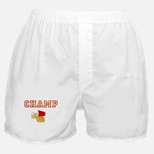 Beer Pong Champ Boxer Shorts