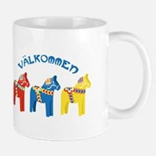 Dala Valkommen Horses Mugs