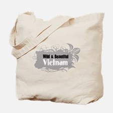 Unique Vietnam map Tote Bag