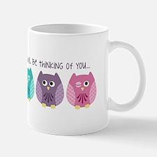 Owl Be Thinking... Mugs