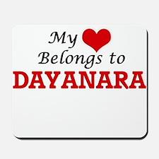 My heart belongs to Dayanara Mousepad