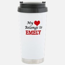 My heart belongs to Eme Travel Mug