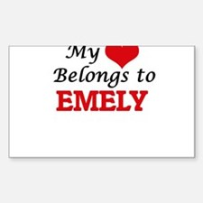 My heart belongs to Emely Decal