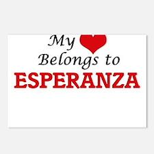 My heart belongs to Esper Postcards (Package of 8)