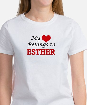 My heart belongs to Esther T-Shirt