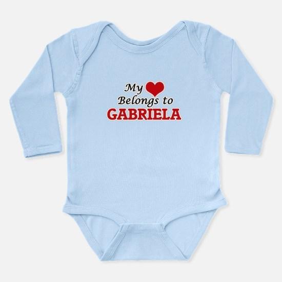 My heart belongs to Gabriela Body Suit