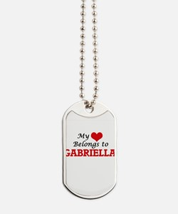 My heart belongs to Gabriella Dog Tags