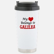 My heart belongs to Gal Travel Mug