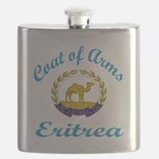 Coat of Arms Eritrea Flask