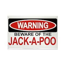 JACK-A-POO Rectangle Magnet
