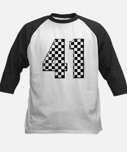 Checkered Number 41 Tee