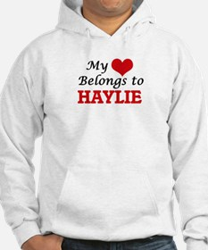 My heart belongs to Haylie Jumper Hoody
