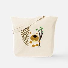 Cute Cute beaver Tote Bag