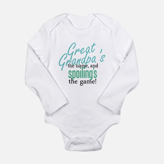Great Grandpa's the Name! Body Suit