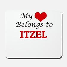 My heart belongs to Itzel Mousepad