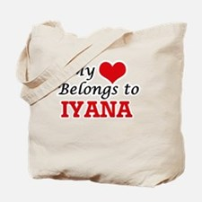 My heart belongs to Iyana Tote Bag