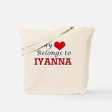 My heart belongs to Iyanna Tote Bag