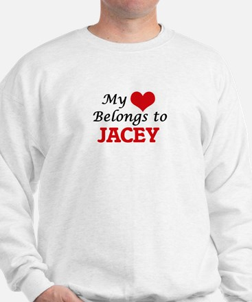 My heart belongs to Jacey Sweater