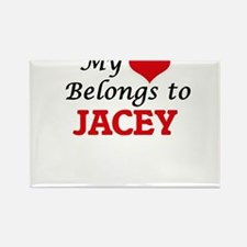 My heart belongs to Jacey Magnets
