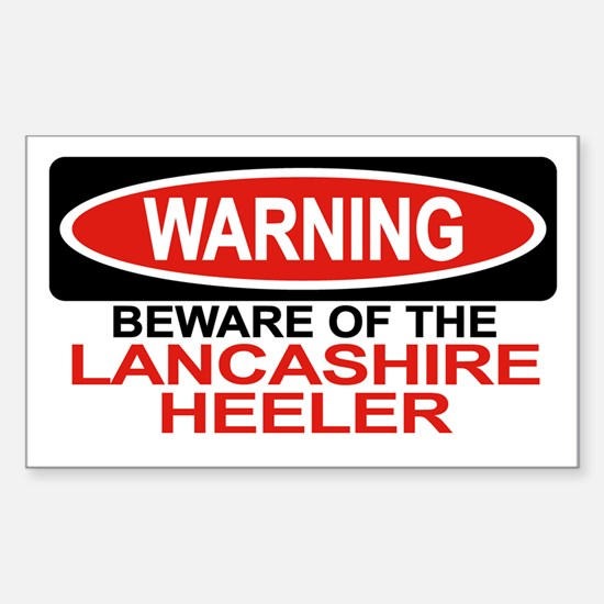 LANCASHIRE HEELER Rectangle Decal