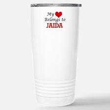 My heart belongs to Jai Travel Mug