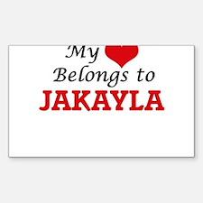 My heart belongs to Jakayla Decal