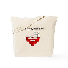 She Shoots,She Scores-Beer Pong Tote Bag