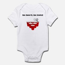 She Shoots,She Scores-Beer Pong Infant Bodysuit