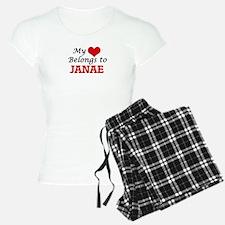 My heart belongs to Janae Pajamas