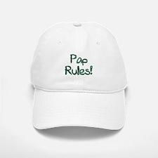 Pap Rules! Baseball Baseball Cap