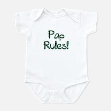 Pap Rules! Infant Bodysuit