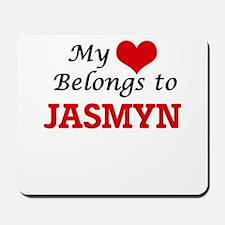 My heart belongs to Jasmyn Mousepad