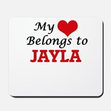 My heart belongs to Jayla Mousepad
