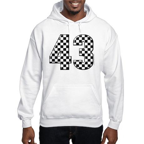 Checkered Racing #43 Hooded Sweatshirt