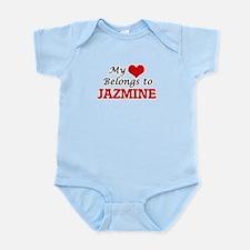 My heart belongs to Jazmine Body Suit