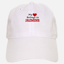 My heart belongs to Jazmine Baseball Baseball Cap