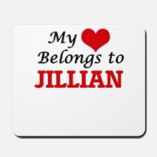 My heart belongs to Jillian Mousepad