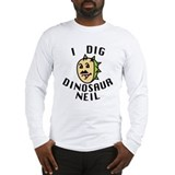 Dinosaur neil Long Sleeve T-shirts