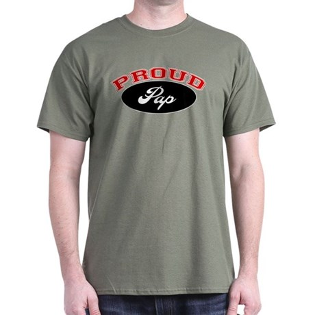 Proud Pap Dark T-Shirt