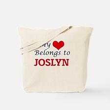 My heart belongs to Joslyn Tote Bag
