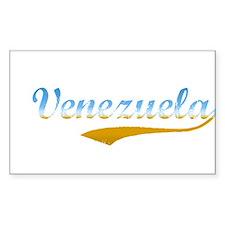 Venezuela beach flanger Rectangle Decal