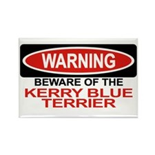 KERRY BLUE TERRIER Rectangle Magnet (10 pack)