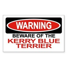KERRY BLUE TERRIER Rectangle Decal