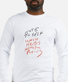 Note To Self Long Sleeve T-Shirt